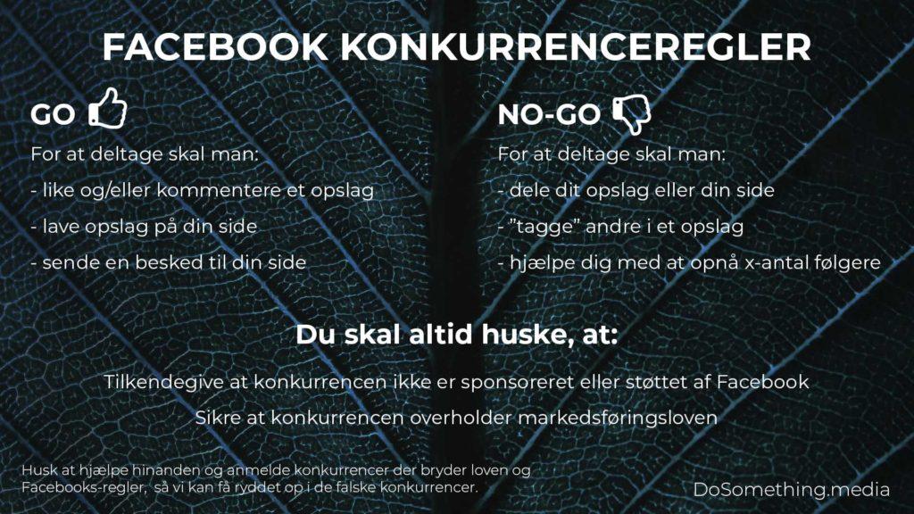 Facebook konkurrenceregler 2020