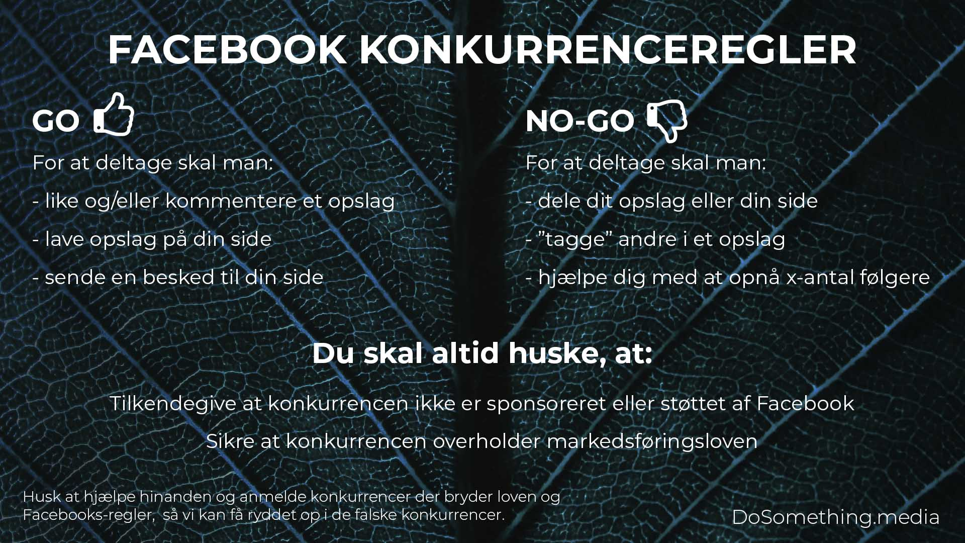 Facebook konkurrenceregler 2020